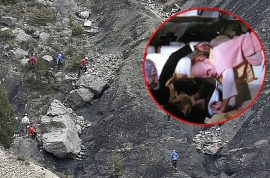 Cover up? Germanwings investigators deny mobile video of crash exists.