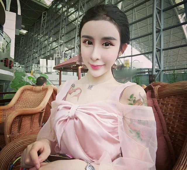 15 year old Chinese girl plastic surgery