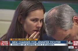 Jennifer Fichter, teacher pleads guilty to sex with three students and getting pregnant