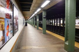 Homeless man found dead on L train. Wasn't asleep after all.