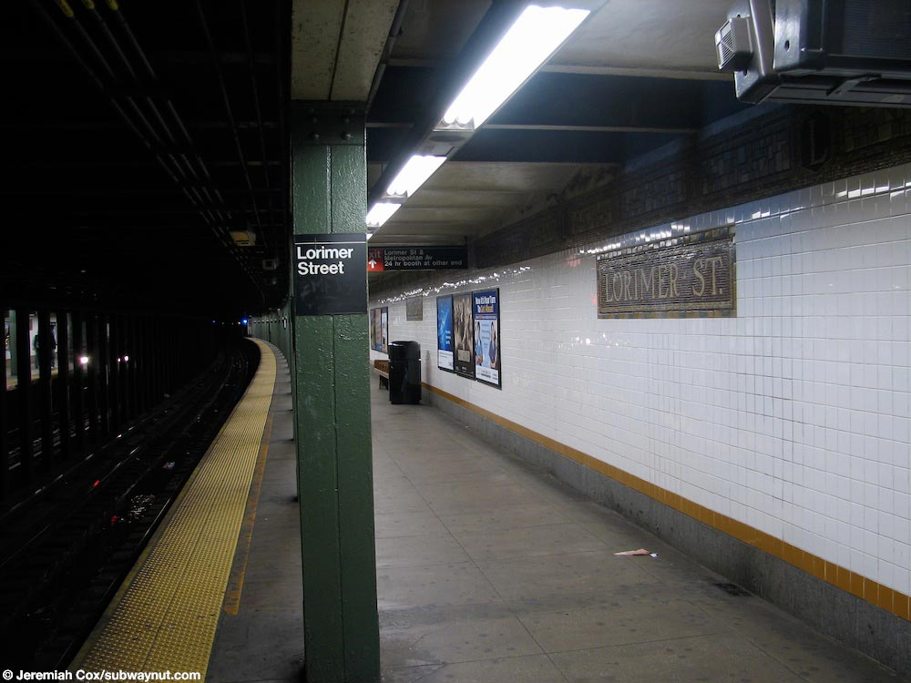 Homeless man found dead on L train
