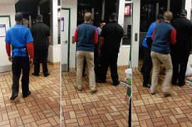Video: McDonald's worker knocks out customer cause he was a nuisance