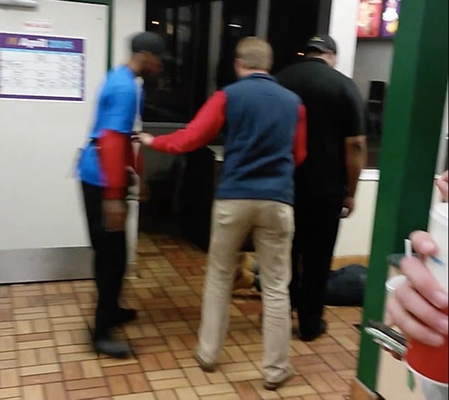 McDonald's worker knocks out customer