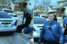 Philip White video: NJ cops confiscates camera after police dog mauls unconscious man to death.