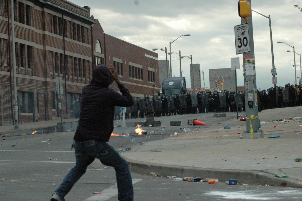 Baltimore looters