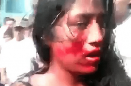 Video: Guatemalan girl beaten and burned alive by mob after murdering taxi driver