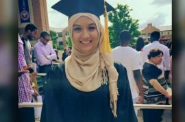 Aminah Jennifa Ahmed: UTA student suffers aneurysm on night after graduating, dies after nap.