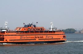 Scumbag Gregory Reddick tricking tourists into paying $200 for free Staten Island ferry rides