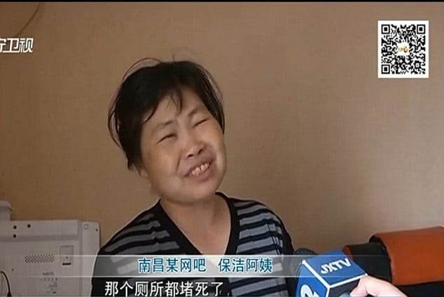 Chinese woman gives birth at internet cafe