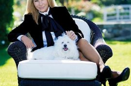 Barbra Streisand's dog bites flight attendant. Left with nasty wound.