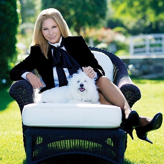 Barbra Streisand's dog