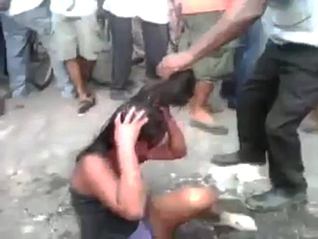 Guatemalan girl beaten and burned alive by mob