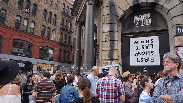 Vito Schnabel Aby Rosen's Bowery exhibition