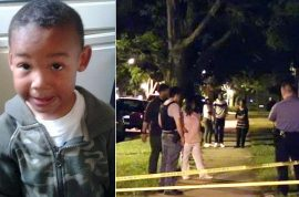 James W. Nevils, 5 year old boy mauled to death by pit bull visiting relatives