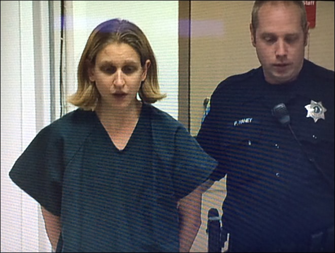 Jessica Fuchs enters not guilty plea