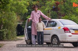 Dharmendra Singh: India's tallest man to work in freak show to find love