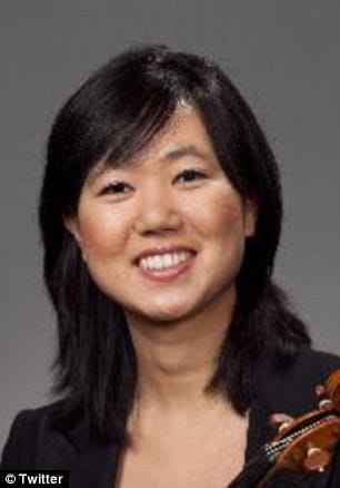 Amtrak's Jennifer Kim violin