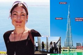 Laura Vanessa Nunes, heartbroken woman jumps from world's tallest building