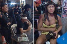 Pictures: Wichai Sripalang, Thai ladyboy beats Irish tourist rejecting sexual advances