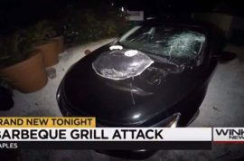 Laura Giles smashes ex lover's car with BBQ grill after arguing if she drinks too much