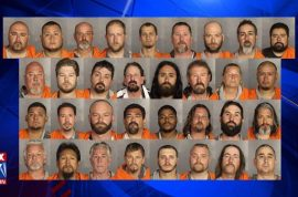 Waco Texas Biker gang mugshots released: Charged with organized crime, held on $1m bail each