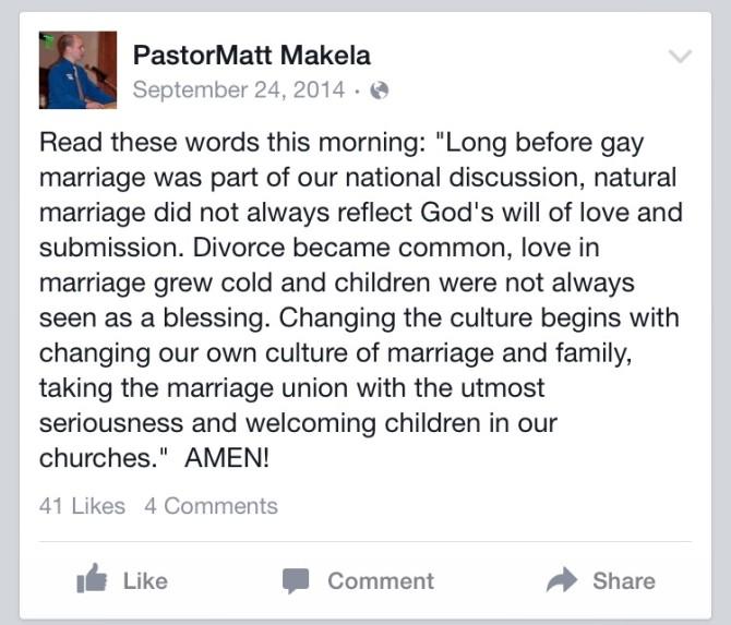 Reverend Matthew Makela