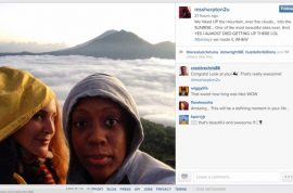 Bogus lawsuit: Dominique Sharpton hiked up a mountain on her $5 m sprained ankle
