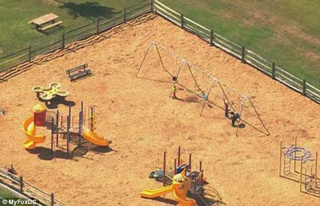 Mother found pushing her dead three year old son in swing