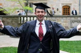 Why did Tyler Carlisle stab fellow Yale student and then jump off building?