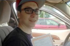 Josh Lewis pizza boy manages to deliver pizza despite carjacking and collapsed lung