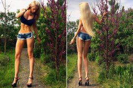Human Barbie doll Valeria Lukyanova: 'I no longer want to be thin'