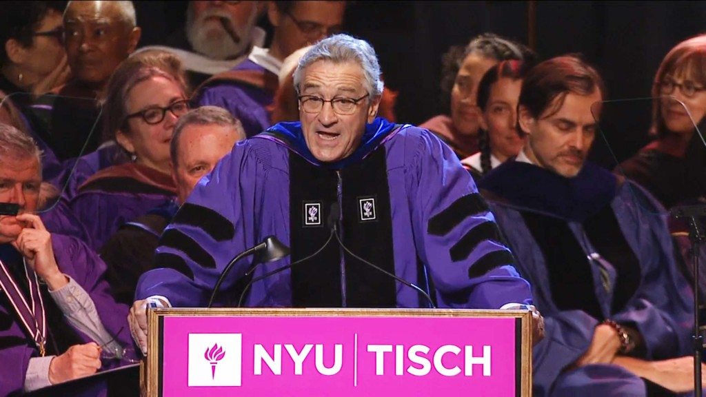 Robert De Niro: 'You're fu*ked'