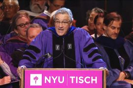 Robert De Niro: 'You're fu*ked' to NYU art grads. Did he go too far?