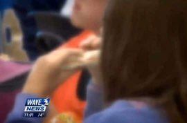 School shames 10 year old school girl cause her cafeteria account was negative. Dumps her hot lunch out