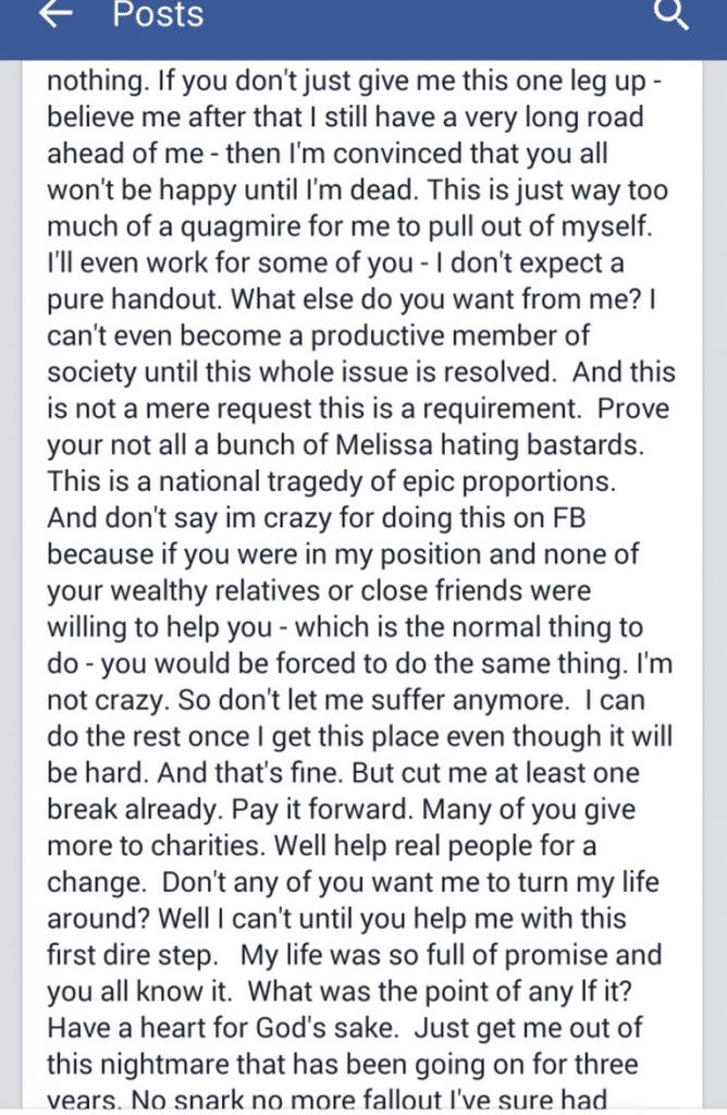 Melissa Berkelhammer confession