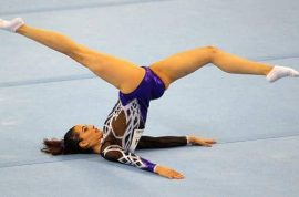 Farah Ann Abdul Hadi, Malaysian gymnast bullied after picture of vagina in tight leotards