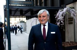 Julian Niccolini, Four Seasons co owner arrested on sexual abuse: Groping her ass