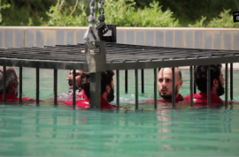 ISIS release drowning prisoner video: Foaming at the mouth