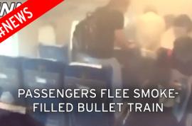Why did Japanese bullet train passenger light himself on fire? 2 dead, 26 injured.