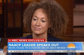Rachel Dolezal to Matt Lauer: 'I am black because I said so.'