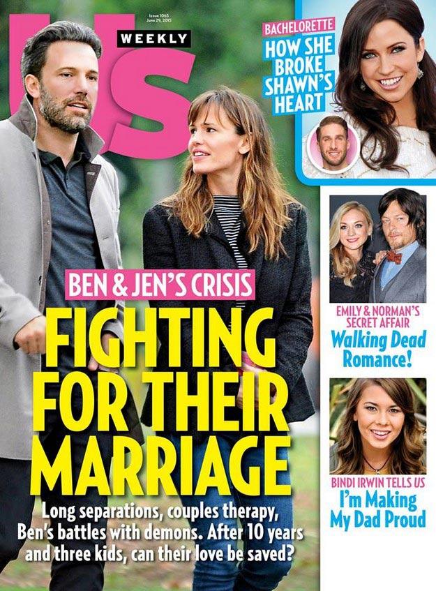 Ben Affleck and Jennifer Garner heading for divorce