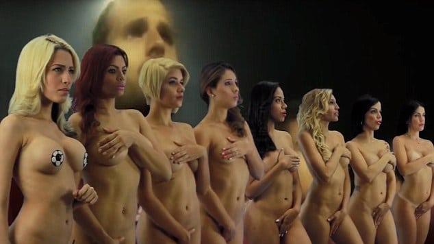 Красивые обнаженные женщины видео.