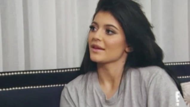 Kylie Jenner tells fan to get the fxck out of her face