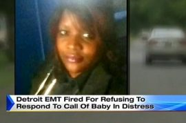 Should she be charged? Detroit EMT fired after refusing to help baby that died