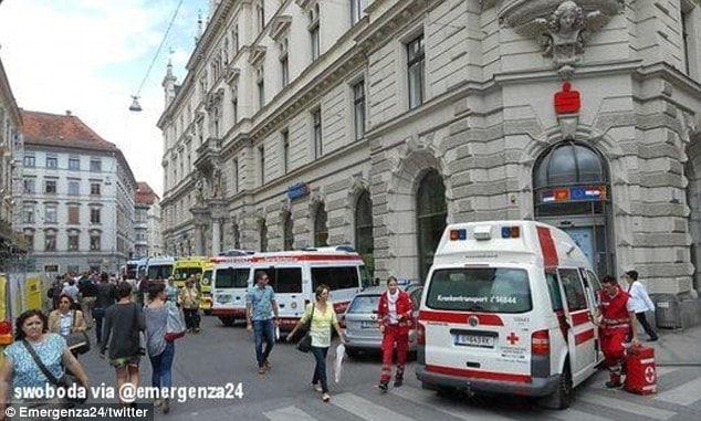 Austrian truck driver plows into Graz