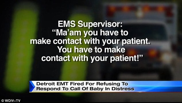 Detroit EMT fired