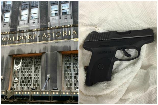 Waldorf Astoria shooting