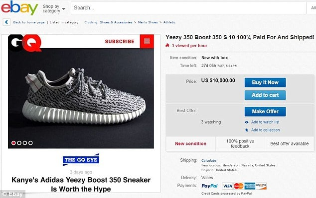 Yeezy Boost 350 sneakers