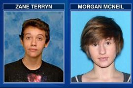 Zane Terryn, suicide teen shot dead by cop after being pulled over.