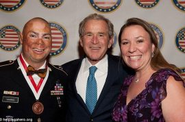 George W Bush charged $100K to speak at Veterans fund raiser: 'I'm not sorry'
